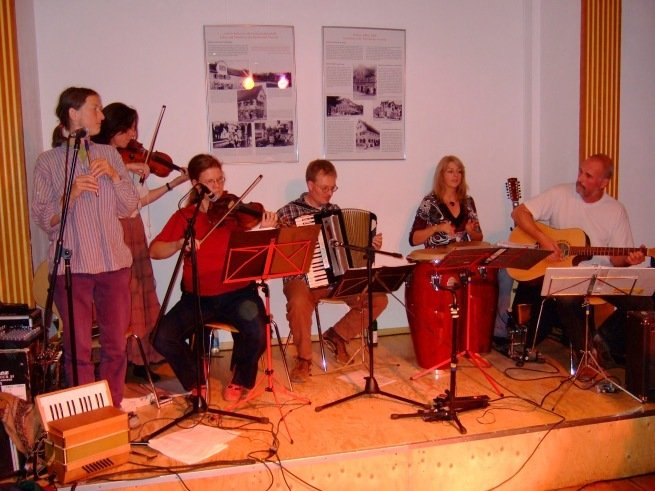 BalFolk in der Seegrasspinnerei in Nürtingen am 20.10.2007